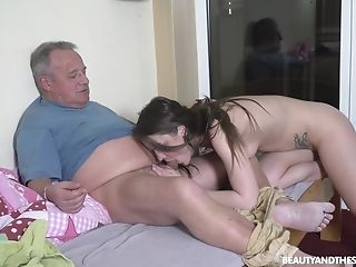 Senior Man Gets The Chance To Fuck His Niece In The Butt