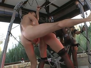 Furious Plower Simony Diamond Drills All Fuck-holes Of Simony Diamond On Fuckfest Swings