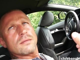 This Homo Duo Adores Suck Off In The Car Before They Have A Good Backdoor Sex