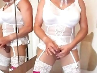 Ejaculation shemale maid ffm