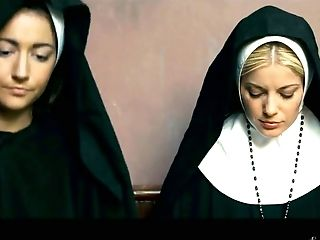 Sinfully Beautiful Stunner Charlotte Stokely Gets Intimate With Two Fucky-fucky-starved Nuns