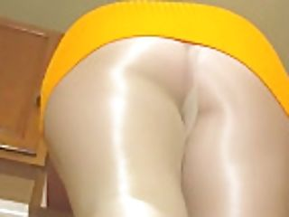 Spandex Angel - Sexy Danskin Shimmery Stocking