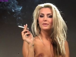 Natasha Sans Bra Smoking Interview