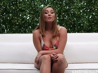 Natalie Adores To Masturbate Alone Before Her Paramour Fucks Her Badly