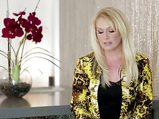 Sextractive Blondes Give Interview And Sexy Sarah Shevon Dances