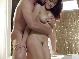Pretty Kendra Spade Gets Her Unshaved Muff Pounded In Many Poses