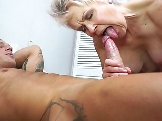 Blonde Brief Haired Matures Granny Lady Sextasy Wants A Hard Boner