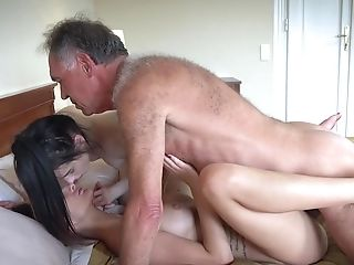 Old Youthfull Pornography Threesome With Petite Teenage Twat Romp Jism