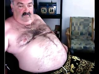 Grandfather Jizz On Web Cam