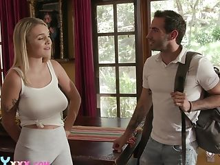 Hardly Legal Nubile With Natural Funbags Gabbie Carter Bangs Her Stepbrother