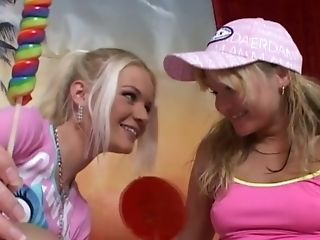 Hot Lezzies From The Netherlands Smooch And Have Fun