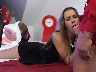 Vipsexvault - Duo Bangs Before The Soiree - Alexis Crystal
