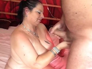 Fat First-timer Granny Gets Fucked In Her Old Cunt By A Horny Stud