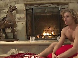 First-ever Rendezvous Of Duo Concludes With Voluptuous Intercourse By Fireplace