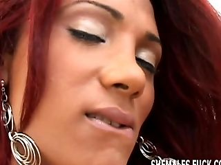 Munch My Slit While A Tranny Deep-throats Your Man Sausage
