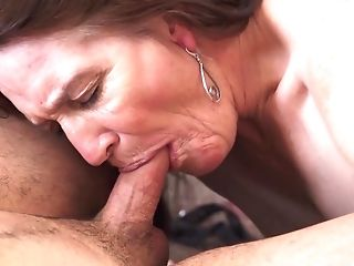 Matures Dana Gets To Please A Fellow By Playing With His Dick