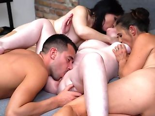 Group Intercourse With Matures Moms And Lucky Son-in-law