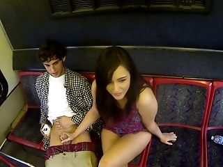 Memorable Fuckfest Session In A Public Bus Featuring Anastasia Black