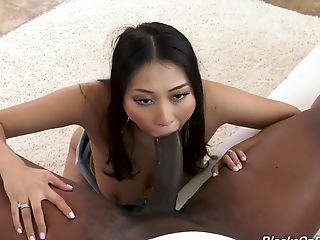 Fabulous Interracial Bang-out For Asian Sharon Lee