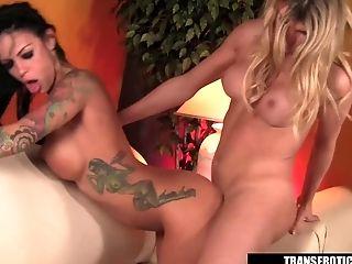 Shemale Angelina Torres Fucking Angelina Valentine