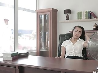 Asian Superstar Sharon Lee Loves To Suck And Get Fucked By A Milky Dick