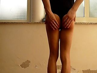 Jessykyna Black Sundress  Spanking - Teenage Crossdresser