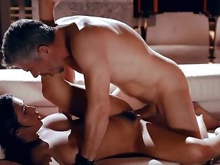 Ardent Buxom Stunner Autumn Falls Is Horny About Railing Strong Boner