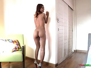 Skinny Thai Nymphomaniac Wants My Spunk On Her Face