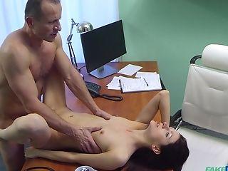 Arian Joy's Doc Uses Tongue And Manmeat To Probe Her Fuck-holes