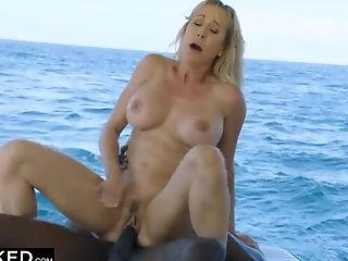 Black Dude Fucked Brandi Love On The Boat