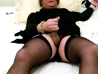 Self-tied Tv Carolyn Cums In Stockings