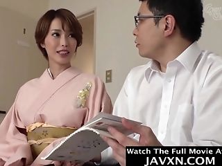 Beautiful Asian Mummy Fucked By Stepson #7