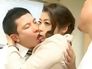 Office Employee Cuckolded By Promiscuous Bi-atch