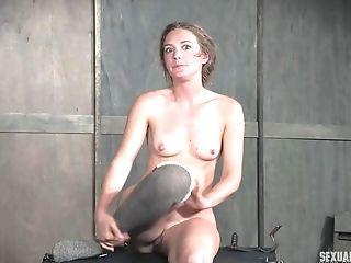 Chained To A Table And Forcefully Fucked Blonde Tart Mona Wales