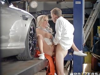 Intense Missionary Fuck Completes With Spunk On Georgie Lyall's Trampy Face