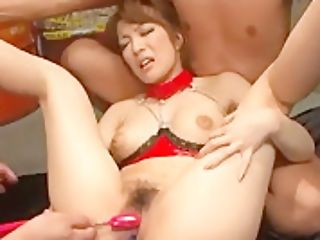 Aiko Nagai Gets Her Fur Covered Twat Demolished - More At 69avs.com