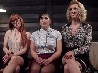 Girly-girl Threesome Is Amazing Practice For Penny Pax And Mia Little