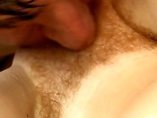 Ginger-haired Sweetie With Little Mammories Katy Smooch Gets Her Hairy Slit Poked Well