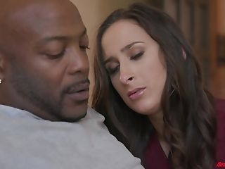 Big Flow Of Black Manmeat Makes Ashley Adams More Satisfied Than Anything