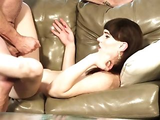 Zealous Lengthy Legged Shemale Natalie Mars Is Poked Missionary Hard Enough