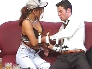 Matures Woman Opens Her Gams For A Cootchie Longing Boy