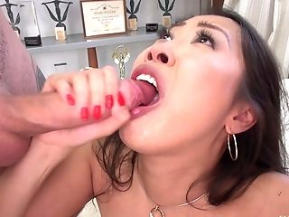 Sharon Lee Is Excited To Get Her Knees Dirty For Two Boners