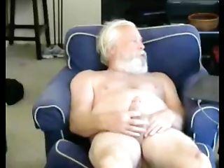 Grandfather Jism On Webcam
