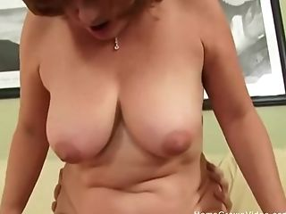 Sandy-haired Housewife Is Nothing But A Filthy Cheating Whore.