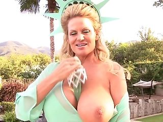Kelly Madison Is A Horny Blonde Who Loves To Masturbate