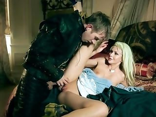 Medieval Sexual Fantasy With Two Horny Blonde Stunners
