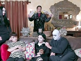 Addams Family Parody Leads The Members To Fuck Like Crazy