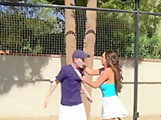 Brazzers - Big Tits In Sports - Diamond Jackson Nikki Benz Jordi El Nino Polla - Game Set Match Labia