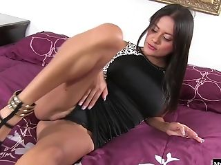 Selma Sins Is A Latina Beauty Who Always Has Her Makeup On And A Matching Sundress.