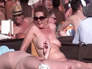 I Spy On Curvy Mummies On Nude Beach